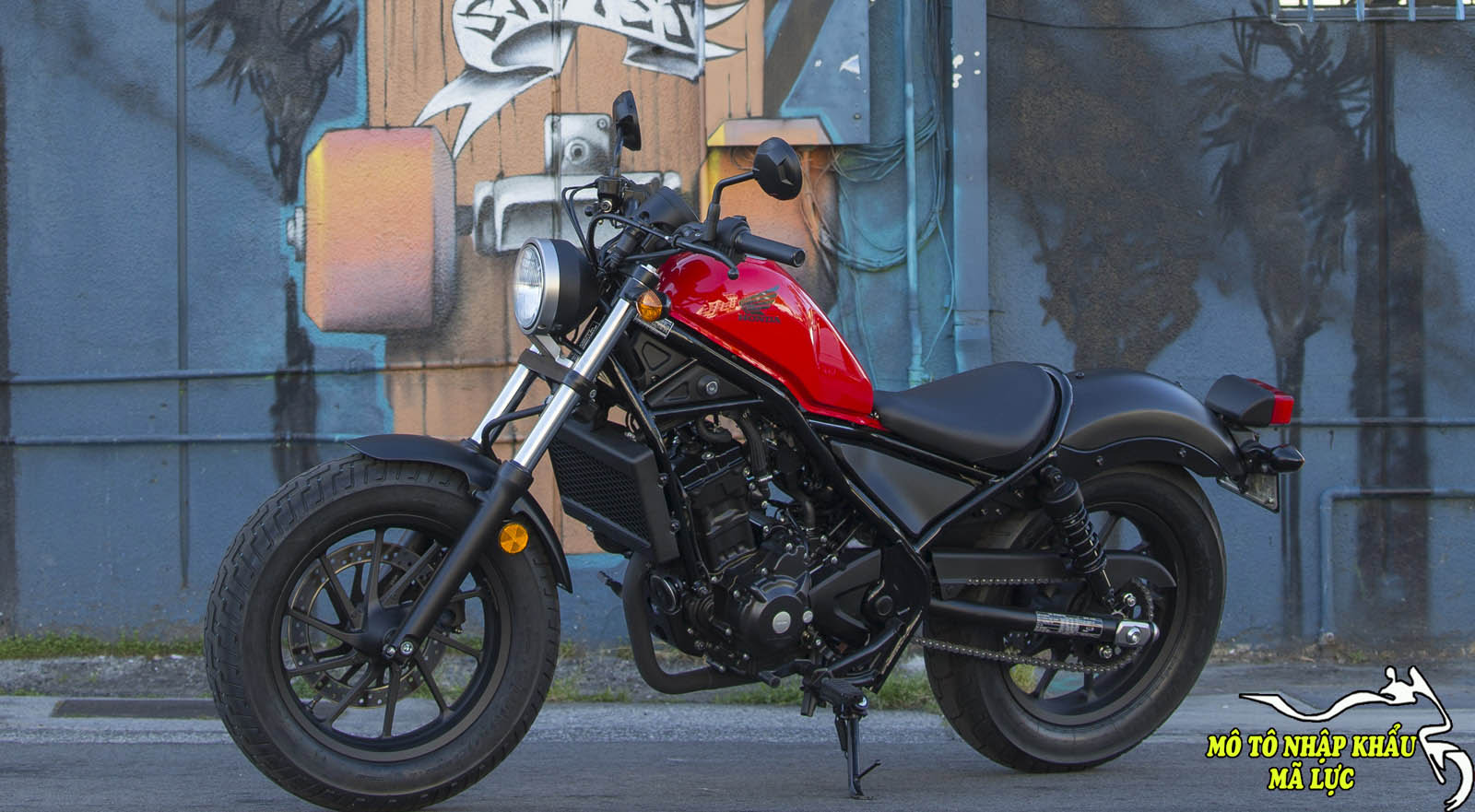 Honda Rebel 500 ABS 2017