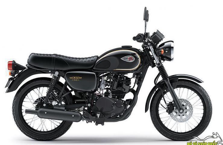 Kawasaki W175 SE 2019 nhập khẩu
